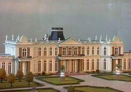 Modell des Schlosses