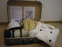 Erinnerungskoffer Bergmann, Foto SMV